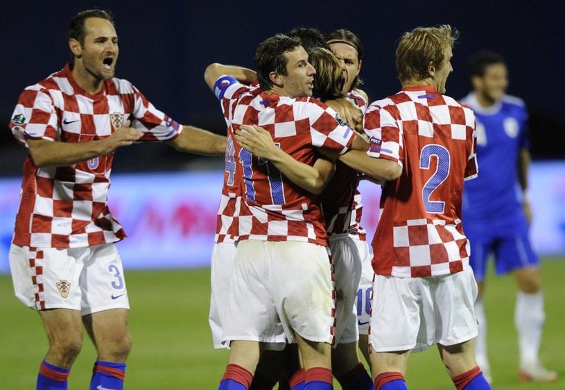 Nie ma zbyt wielu chętnych na oglądanie meczu reprezentacji Chorwacji. /AFP