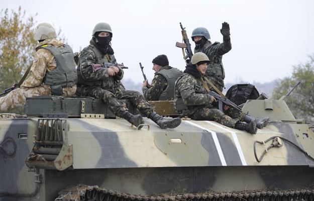 """""""Nie mamy innej alternatywy, jak tylko pokazać swoją siłę"""" fot. Alexander Khudoteply /AFP"""