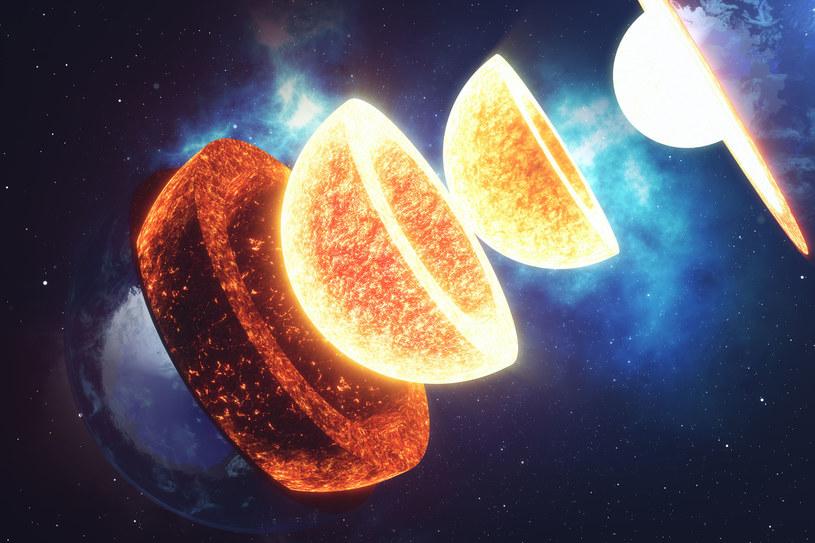 Nie mamy pewności, co znajduje się we wnętrzu Ziemi, ale izotopy żelaza na pewno wyciekają na powierzchnię /123RF/PICSEL