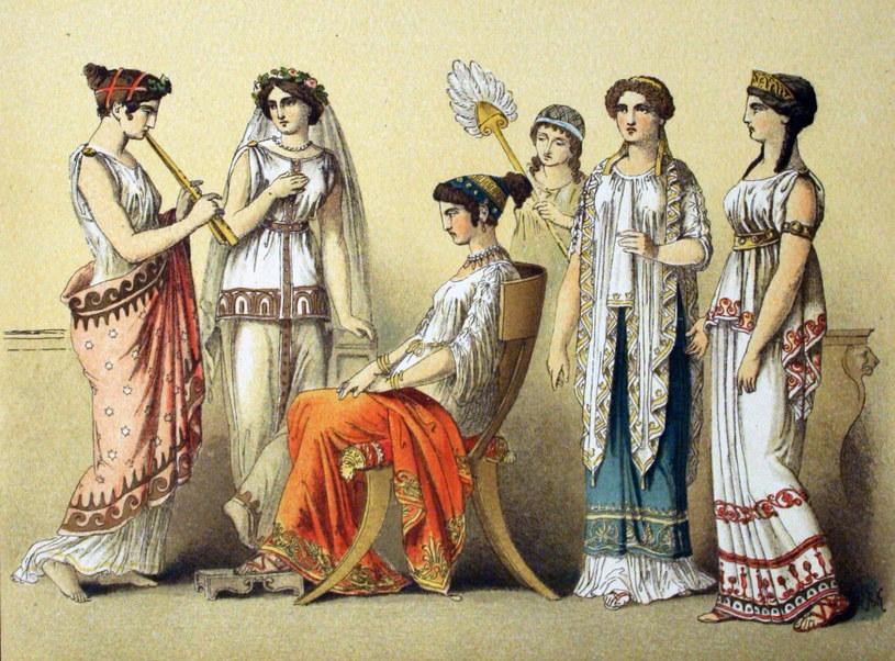 Nie mogły wychodzić z domu. Nie pozwalano im się uczyć. Bardziej ceniono hetery niż prawowite małżonki. Tak wyglądało życie kobiet w starożytnych Atenach – mieście, w którym zrodziła się demokracja (Albert Kretschme/domena publiczna) /Ciekawostki Historyczne