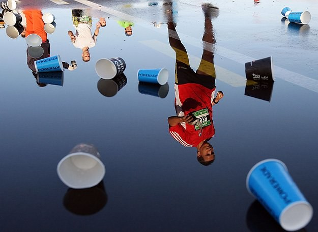 Nie musisz biegać maratonów, by uciec przed depresją... /Getty Images/Flash Press Media