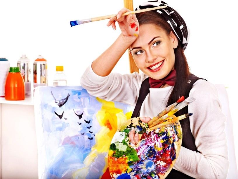 Nie musisz od razu kończyć ASP, by móc poczuć w sobie duszę artystki /123RF/PICSEL