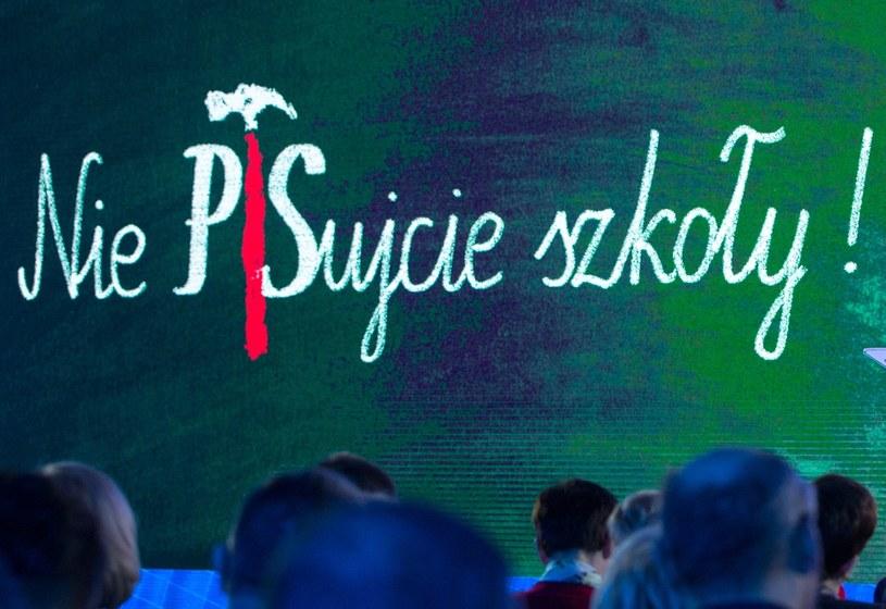 """""""Nie PiSujcie szkoły"""" /Andrzej Iwańczuk /Reporter"""