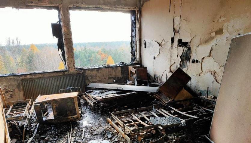 Nie pokonała ich pandemia, zrobił to pożar. Pracownicy UCK apelują o wsparcie