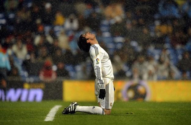 Nie tak miała wyglądać kariera Ricardo Kaki w Realu. /AFP