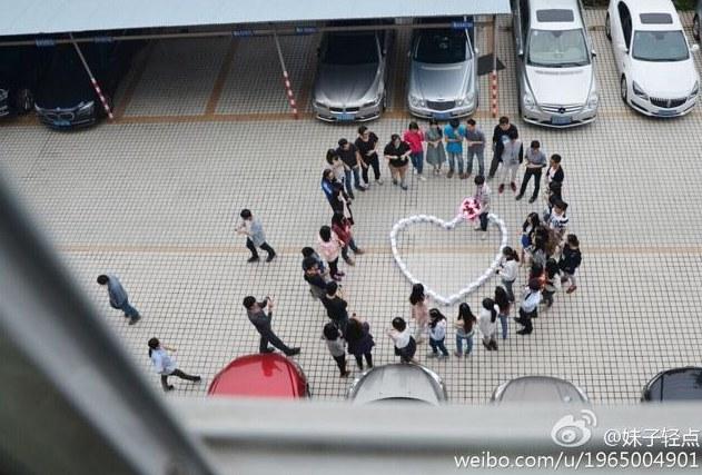Nie tak miało być... /Weibo.com /INTERIA.PL/materiały prasowe