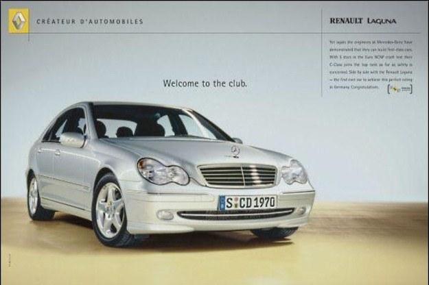 Nie, to nie reklama Mercedesa... /