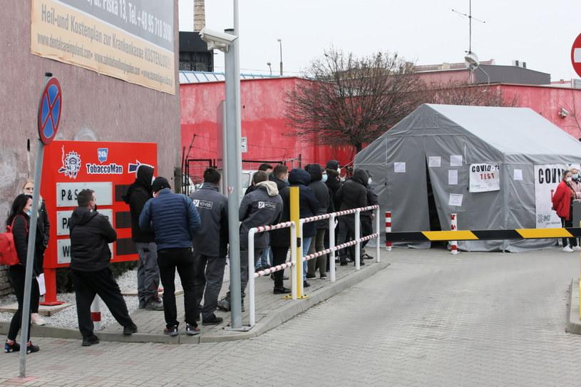 Nie trzeba będzie płacić za szybki test na przejściach granicznych w Meklemburgii-Pomorzu Przednim /Lech Muszyński /PAP