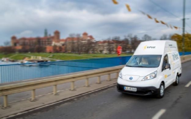 Nie tylko InPost stawia na pojazdy elektryczne /Informacja prasowa