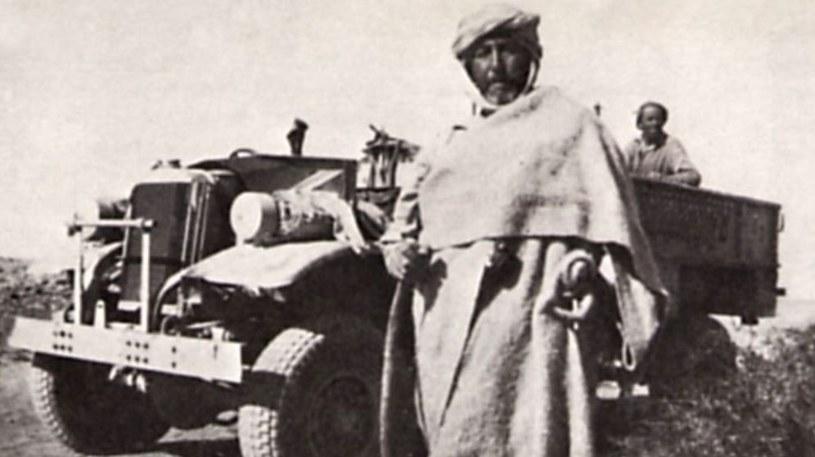Nie tylko Niemcy chcieli pozyskać arabów. Również Brytyjczycy. Na zdjęciu John Edward Haselden, komandos SAS /domena publiczna