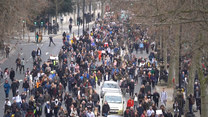 Nie tylko Polska. W Londynie protestowano przeciwko obostrzeniom