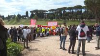 Nie tylko restauratorzy. Drugi dzień protestów w stolicy Włoch
