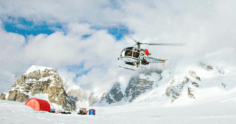 Nie we wszystkie rejony parku narodowego Denali służby są w stanie wysłać ekipy ratunkowe /East News
