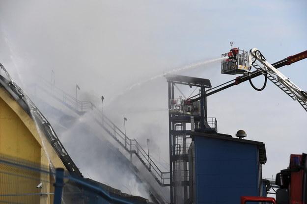Nie wiadomo, co spowodowało wybuch ognia /Marcin Gadomski /PAP