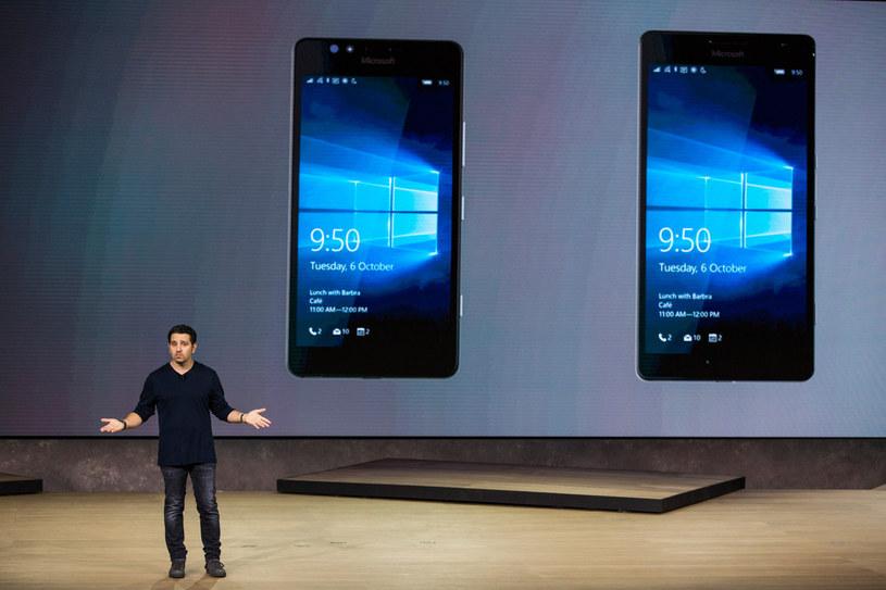 Nie wiadomo, kiedy Microsoft planuje zaprezentować nowe smartfony /AFP