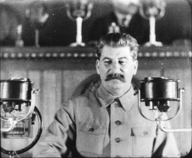 """""""Nie wiemy na przykład, co myślał o zrywie Stalin"""". Bez wątpienia wybuch powstania był na rękę sowieckiemu dyktatorowi /Fine Art Images/Image State /East News"""