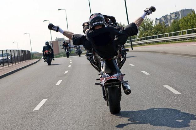 Nie wszyscy motocykliści to szaleńcy / Fot: Dariusz Borowicz /Reporter
