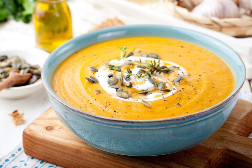 Nie zabielaj zup śmietaną! /123RF/PICSEL