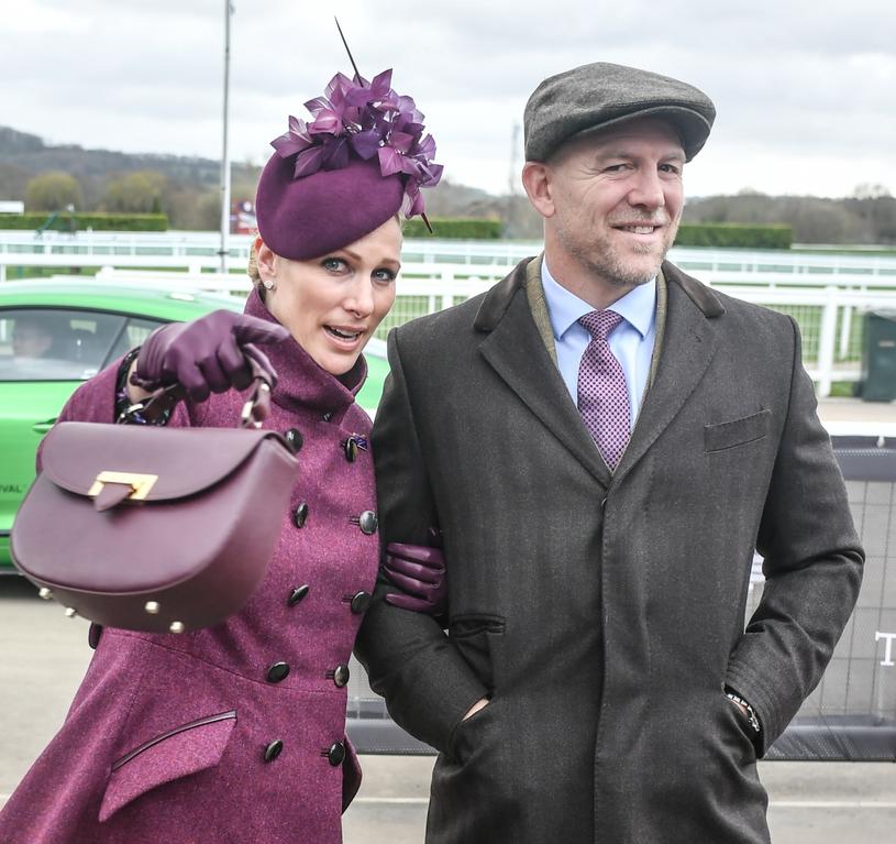 Nie zabrakło również Zary Tindall z mężem /Jules Annan/Retna/Photoshot/ /East News