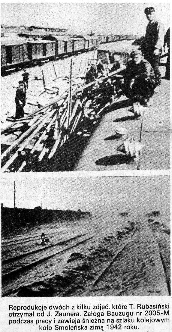 Nie zachowały się zdjęcia, które Teofil Rubasiński otrzymał z Niemiec. To tylko ich prasowe reprodukcje z 1990 roku wraz z oryginalnym podpisem. /Odkrywca