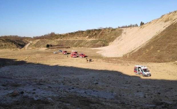 Nie żyje 15-latek, który został przysypany ziemią w nieczynnej żwirowni