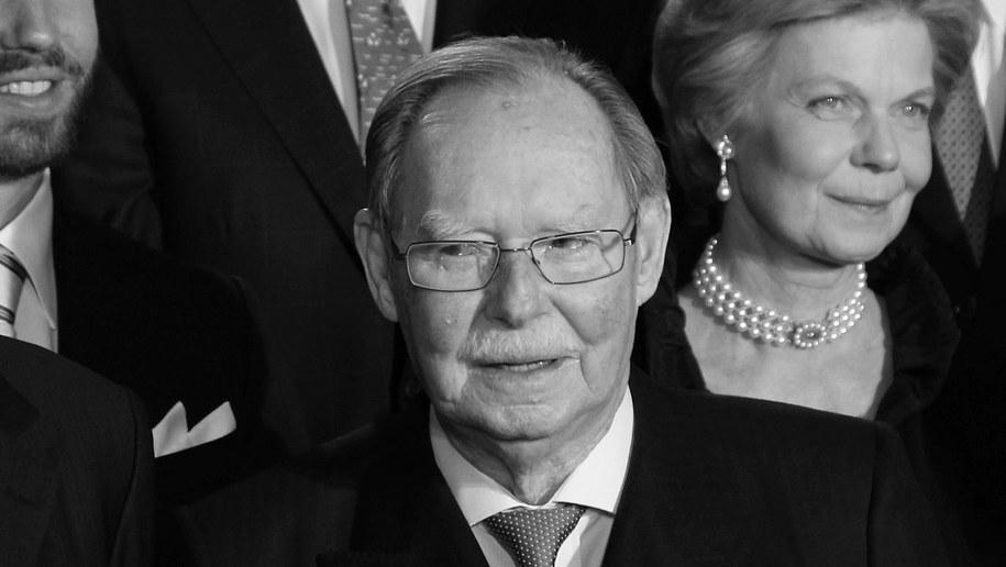 Nie żyje były władca Wielkiego Księstwa Luksemburga /THOMAS FREY  /PAP/EPA