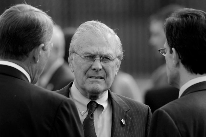 Nie żyje Donald Rumsfeld /MICHAEL REYNOLDS    /PAP/EPA