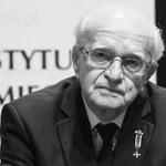 """Nie żyje Edmund Baranowski """"Jur"""" - były wiceprezes Związku Powstańców Warszawskich"""