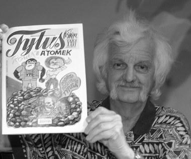 Nie żyje Henryk Jerzy Chmielewski, słynny Papcio Chmiel, twórca komiksów o przygodach Tytusa, Romka i A'Tomka
