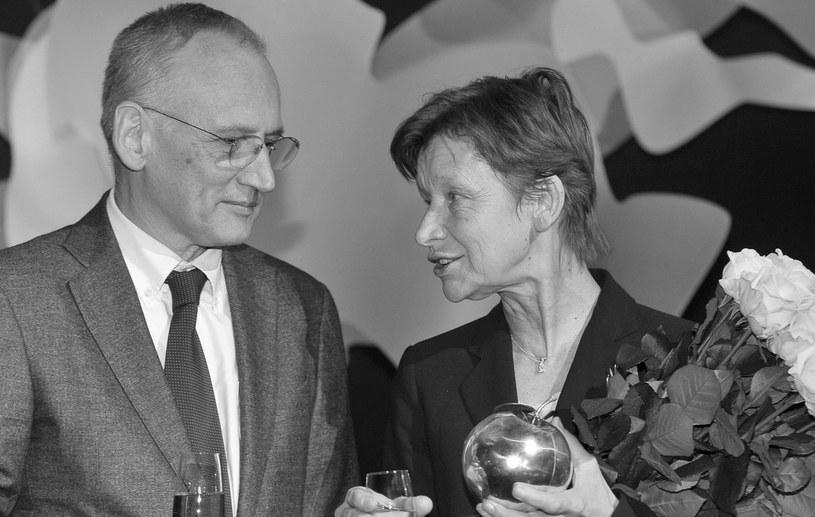 Nie żyje Piotr Cieślak, mąż Jadwigi Jankowskiej-Cieślak /Kurnikowski /AKPA
