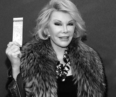 Nie żyje słynna prezenterka Joan Rivers