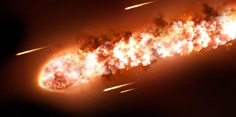 Niebezpieczeństwo dla Ziemi stwarzają fragmenty komety Enckego (2P/Encke) /123RF/PICSEL