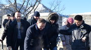 Niebezpieczny Wielki Mur. Andrzej Duda uniknął upadku