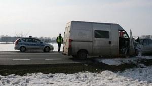 Niebezpieczny wypadek na obwodnicy Myszęcina