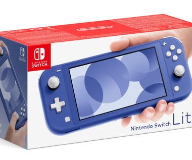 Niebieska konsola Nintendo Switch Lite pojawi się 7 maja 2021 roku