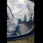 Niecodzienny konwój przez dwa województwa: Policja eskortowała cysternę z tlenem