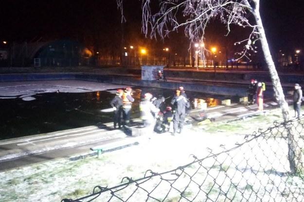 Nieczynny basen znajduje się na terenie poligonu przy ulicy Akacjowej. /Słuchacz RMF FM /Gorąca Linia RMF FM