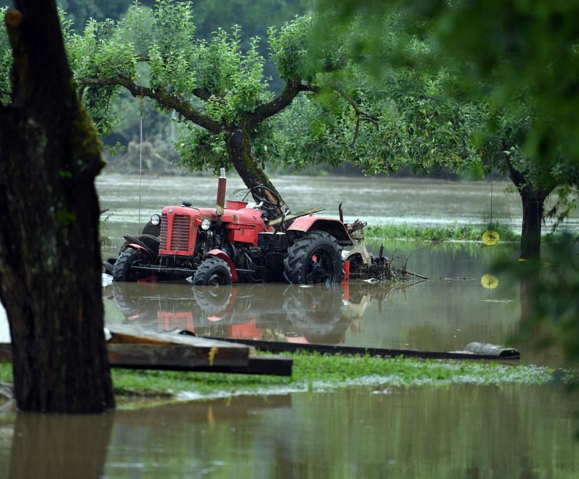 Niedawna powódź w małopolskim Głogoczowie /Artur Barbarowski /East News
