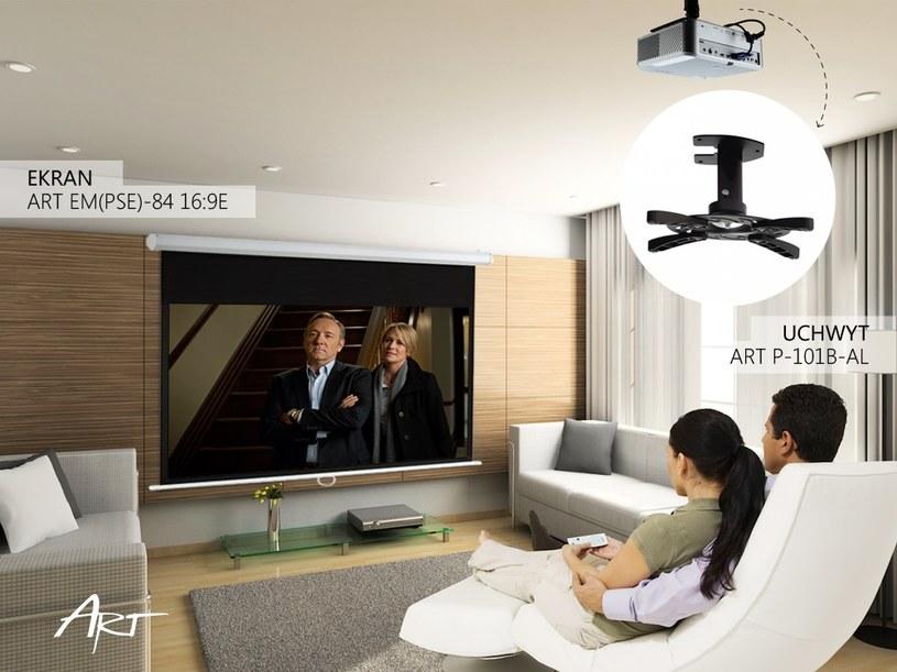 Niedrogi projektor zastąpi nam gigantyczny telewizor /materiały prasowe