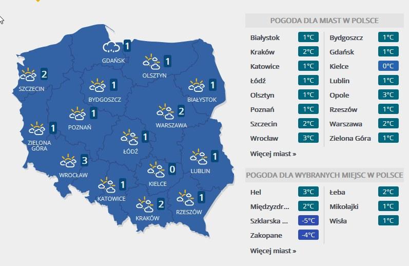 Niedziela, 10 grudnia 2017 r. /INTERIA.PL