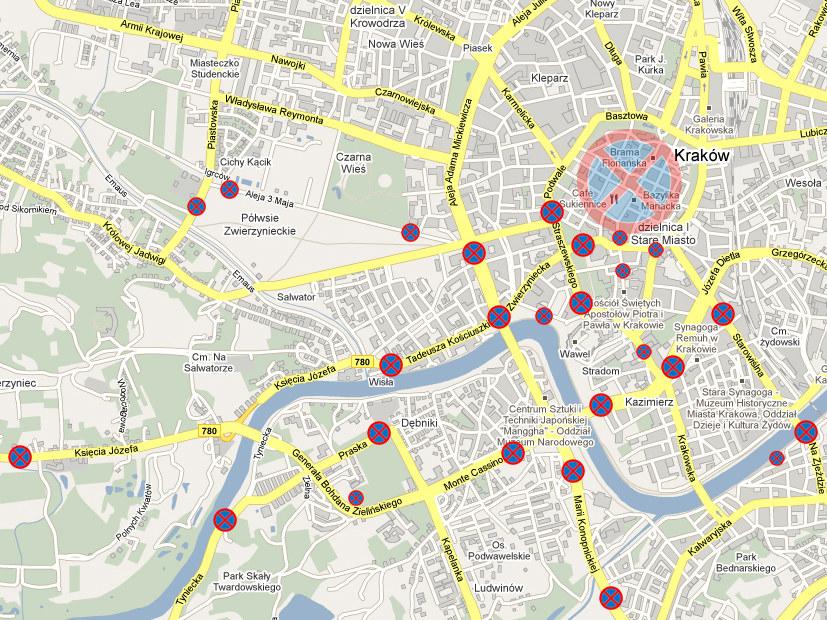 Niedziela, od godz. 6.00  /maps.google.com
