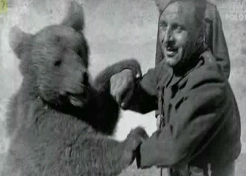 Niedźwiedź Wojtek /YouTube