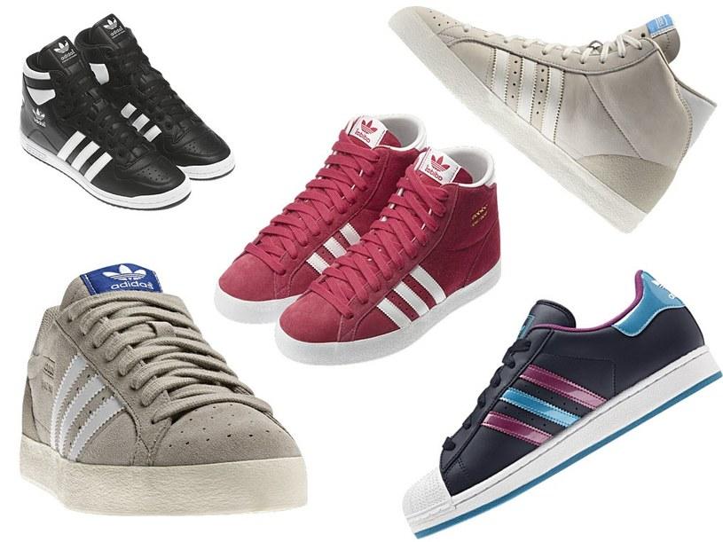 Niegdyś używali ich zawodowi koszykarze, dziś klasyczne buty do koszykówki zakładamy na co dzień /Adidas /materiały prasowe
