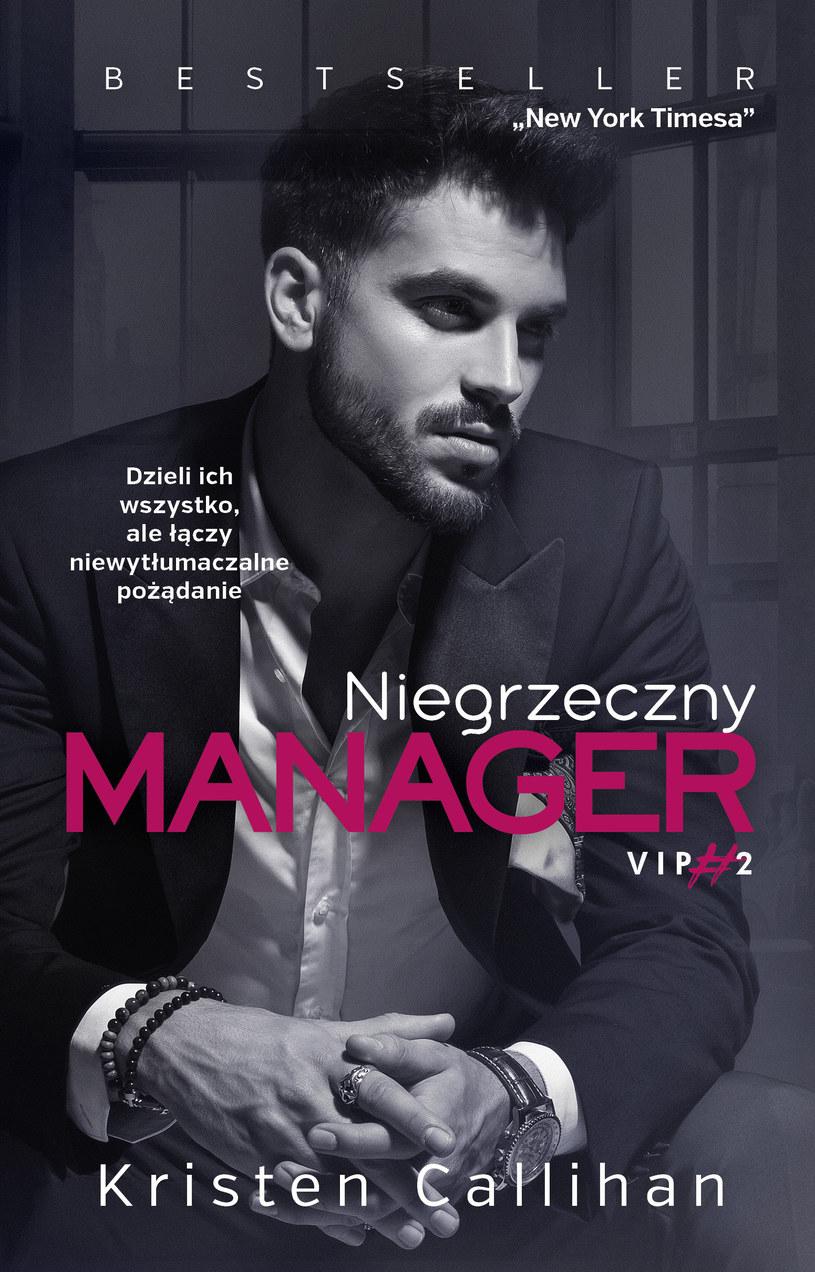 Niegrzeczny manager, Kristen Callihan /INTERIA.PL/materiały prasowe