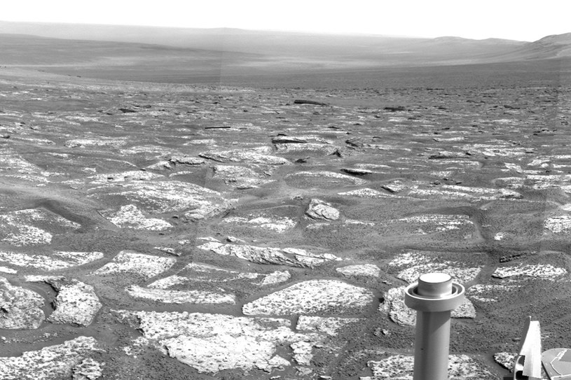 Niektóre formacje skalne na Marsie mogły powstać poprzez parowanie wody /NASA