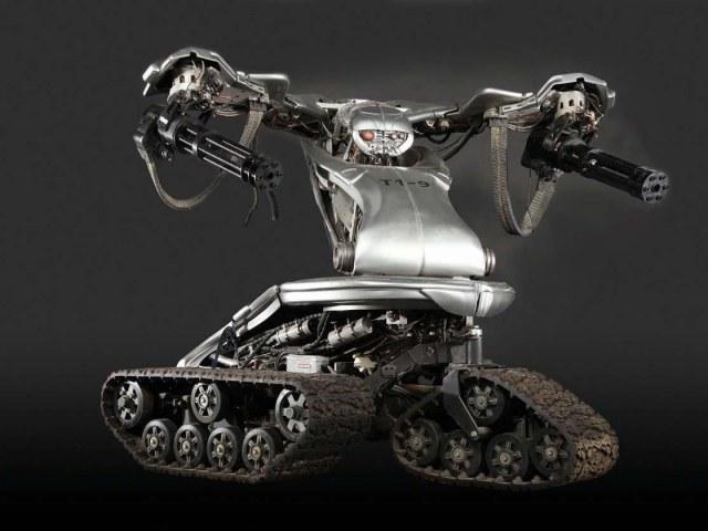 Niektóre organizacje pozarządowe i część naukowców sprzeciwiają się technologii zabójczych robotów. /Tylkonauka.pl