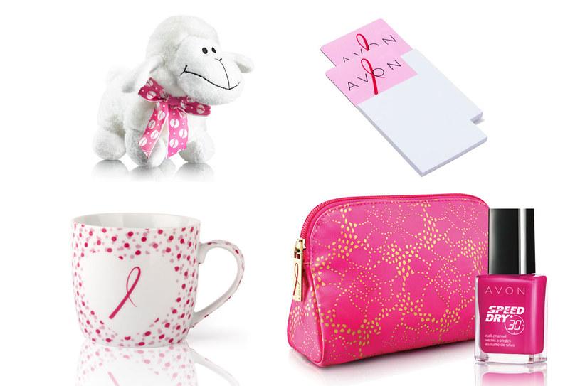 Niektóre produkty marki Avon oznaczone Różową Wstążką /materiały prasowe