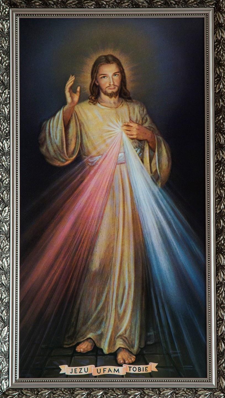 Niektóre wizerunki Jezusa kojarzymy niemal wszyscy /Andrzej Sidor /Agencja FORUM