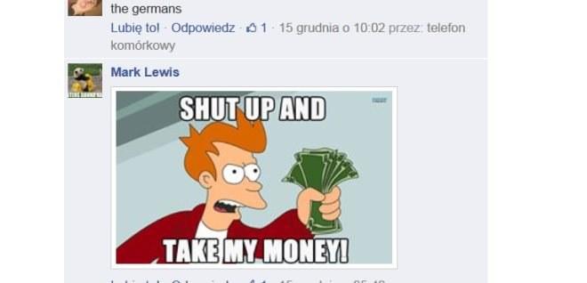 Niektórym komentującym polski PL-01 się podobał /Facebook /INTERIA.PL