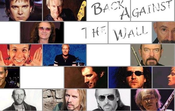 """Niektórzy muzycy zaangażowani w """"Back Against The Wall"""" /"""